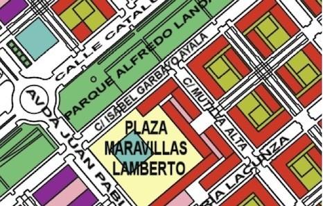 Maravillas Lamberto plazaren inaugurazioa larunbatean, Lezkairun
