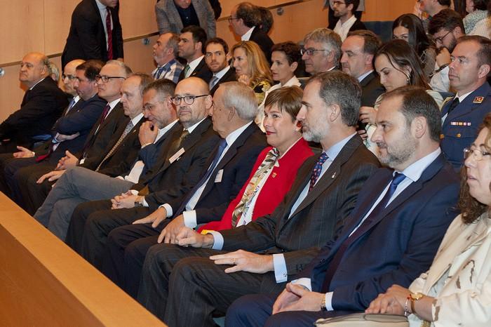 Espainiako Felipe VI.a Erregeak Arkitektura eta Gizartearen Nazioarteko V. Biltzarraren inaugurazioan parte hartu du Iruñean