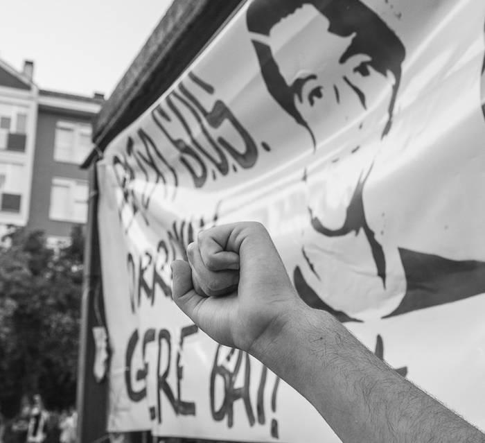 Patxi Ruiz ospitaleratu dute, grebaren hamabigarren egunean