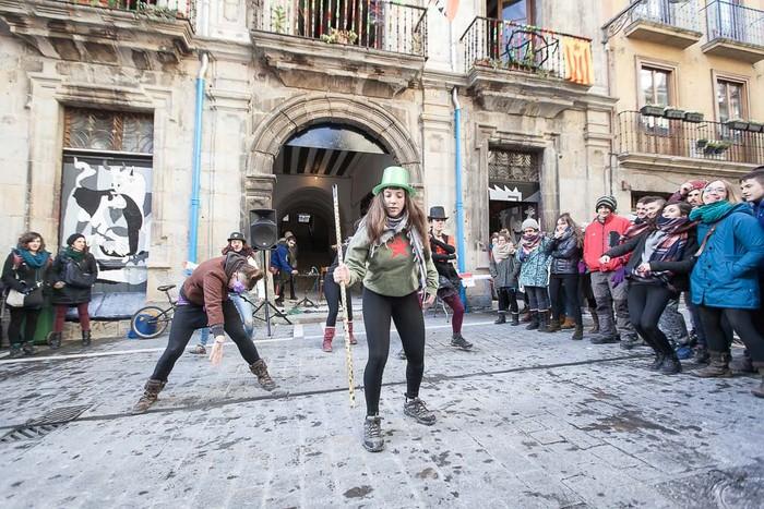'Maravillas' deitzen da Iruñeko Alde Zaharreko gaztetxea - 4
