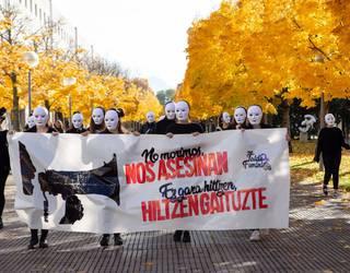 Indarkeria matxista salatzeko auzoka protesta eginen dute arratsaldean