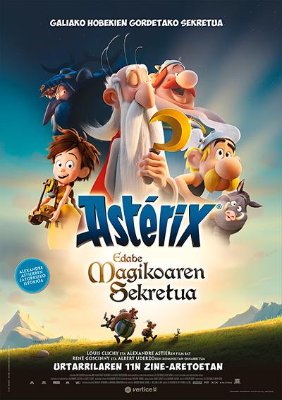 """""""Asterix - Edabe magikoaren sekretua"""" euskarazko pelikula, Golem La Morean"""