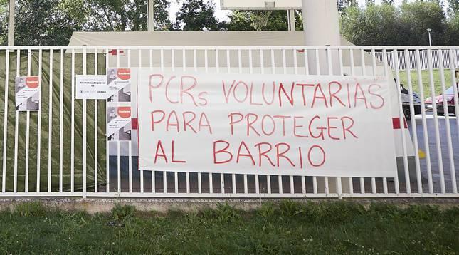 Probak egiteko deialdian Mendillorriko gazteek emandako erantzuna positibotzat jo du Osasun Departamentuak