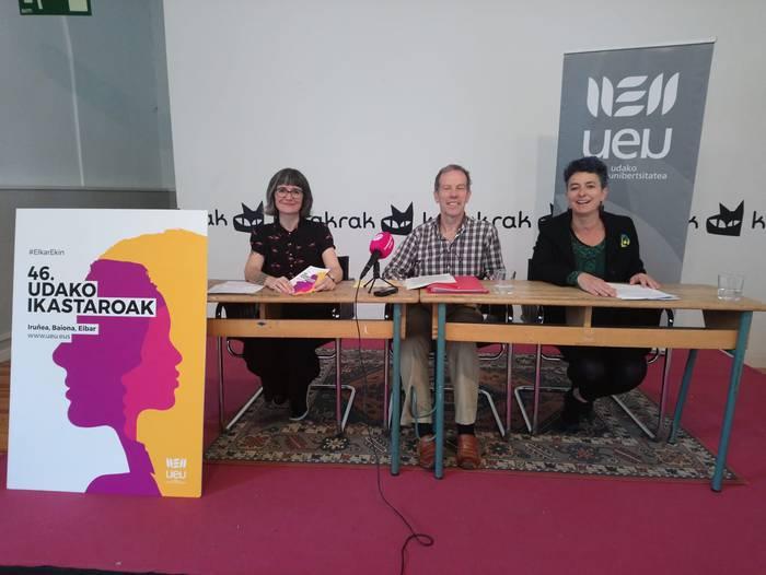 Udako Euskal Unibetsitateak 35 ikastaro, jardunaldi eta tailer eskainiko ditu