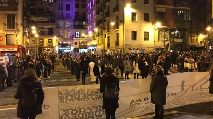 Iruñerria, indarkeria matxistaren aurka