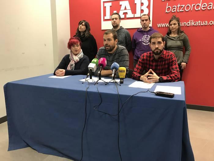 Aldaketa sozialaren alde kalean eta hautesontzietan mobilizatzeko deia egin du LAB sindikatuak