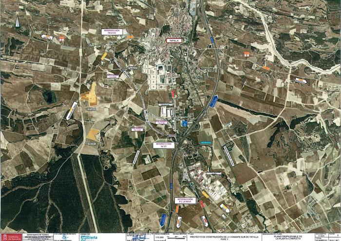 Tafallako hegoaldeko saihesbidea eraikitzeko 11'3 milioi euro inbertituko ditu gobernuak