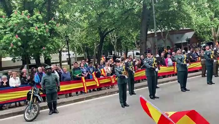 Aurten ez da Guardia Zibilaren desfilerik izango Iruñean